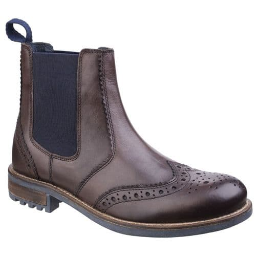 Cotswold Cirencester Mens Boots Brown